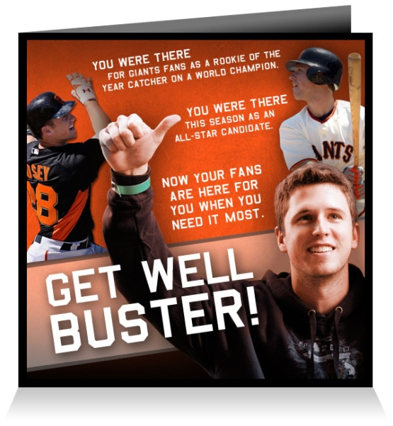 Get Well Buster!